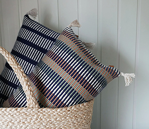 Broughs Handwoven scatter cushions