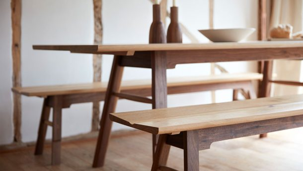 Barnby Design Mason Table and Benches