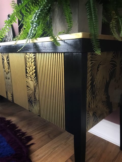 The Painted Pearl Cocktail Cabinet
